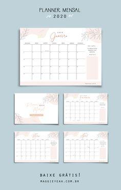 Agenda Planner, School Planner, Study Planner, Planner Pages, Life Planner, Weekly Planner, Planner Diy, Blog Planner Printable, Planner Template