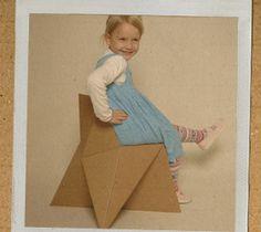 foldschool - cardboard furniture