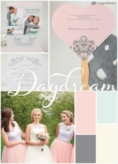Classic Summer Wedding color palette