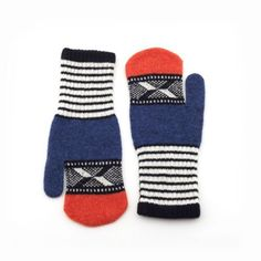 Winter Nautical Mittens by Quinton & Chadwick