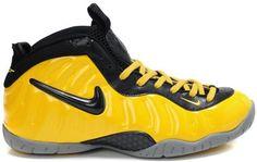 Nike Air Foamposite Pro Yellow Black0
