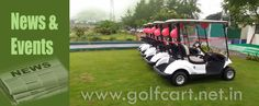 Images of various events that Yamaha Golf cars has participated in India.