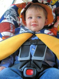 My No Sew Car Seat Poncho Tutorial Car Seat Safety Pinterest
