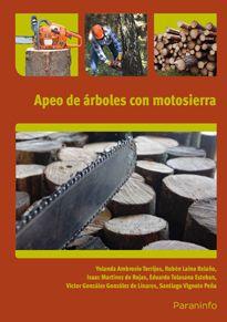 Portada del libro UF0268 - Apeo de árboles con motosierra