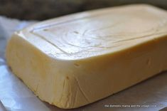 """Homemade American Cheese  I'm using this one because you don't have to """"sign up"""" or """"login"""" to view it like the one from America's Test Kitchen.  I find it very annoying to have to do all that just to view a recipe"""