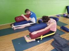 Image result for restorative yoga poses