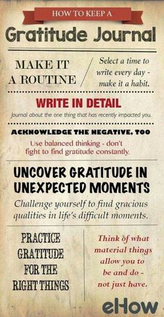 How to keep a gratitude journal. Original pinner sez: Simple ways on how to start, and keep, a gratitude journal. Gratitude Quotes, Attitude Of Gratitude, Gratitude Journals, Gratitude Ideas, Practice Gratitude, Journaling, Aunty Acid, Self Improvement, Self Help