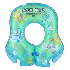 Sale 22% (8.69$) - Summer Swimming Ring Inflatable Thicker Children Baby Kids Armpit Circle Floating Ring