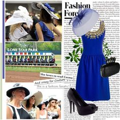 """""""Derby Daze"""" by angelahhh ❤ liked on Polyvore"""
