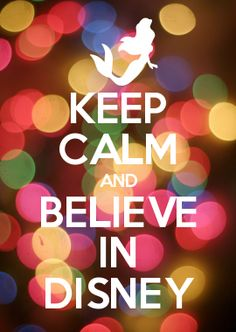 believe in disney