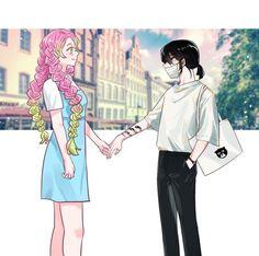 All Anime, Manga Anime, Anime Art, Demon Slayer, Slayer Anime, Series Manga, Fandom, Anime Demon, Anime Couples