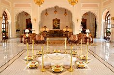 Browse Through the Luxury Offerings At Rambagh Palace, Jaipur