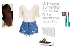 """What I wore 7-25-13"" by torihoronetz ❤ liked on Polyvore featuring Topshop, Urban Outfitters, Converse, Sonoma life + style and Revlon"