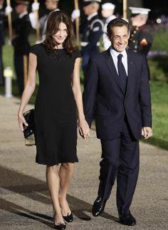 Carla Bruni y Nicolas Sarkozy - 2 (AP)