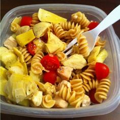 Whole-wheat Pasta Salad with Chicken
