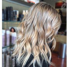 Blonde #blonde #bayalage #hair