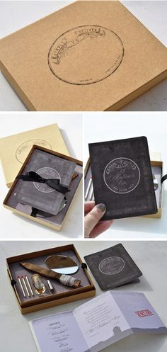 Love these invitations for a dark / gothic / or vampire themed party. Under booklet/invite - Invitations survival kit content includes : 1. Wooden Stake for vampire slaying 2. Silver Bullet werewolf extermination 3. Holy Water exorcism rituals and warding off evil spirits 4. Mirror undead detection 5. Matches destruction of monster remains and lighting of torches.