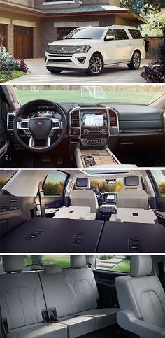 New 2018 Ford® Expedition Full-Size SUV   Spacious 8 Passenger Seating   Ford.com