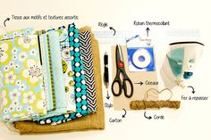 Guirlande de fanions DIY facile et sans couture