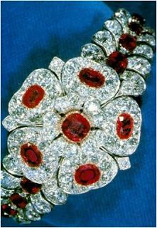 From Her Majesty's Jewel Vault: The County of Cornwall Bracelet