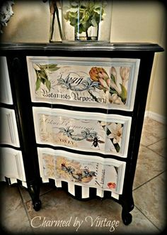 Love the .decoupage!