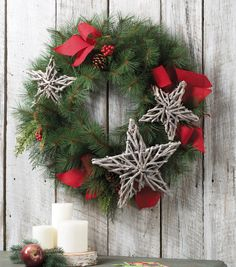 Star Wreath // Winter Wreath // Winter Crafts