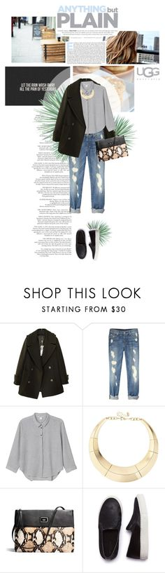 """""""Untitled #207"""" by szansza ❤ liked on Polyvore featuring Frapp, Agave, Monki, ALDO, UGG Australia and SELECTED"""