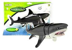 NEW Safari Ltd Jaw Snapping Great White Shark Easy-Action Trigger Kids Fun Toy - http://hobbies-toys.goshoppins.com/action-figures/new-safari-ltd-jaw-snapping-great-white-shark-easy-action-trigger-kids-fun-toy/