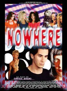 "MP205. ""Nowhere"" French Movie Poster by Benjamin Baltimore (Gregg Araki 1997) / #Movieposter"