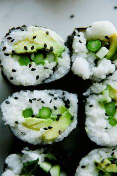 Vegan Green Roll sushi