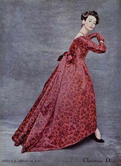 L'Officiel, 1956 Christian Dior, Fall 1956