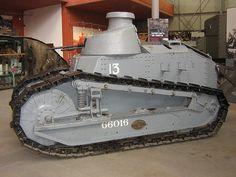 Renault FT-17 Tank Bovington Tank