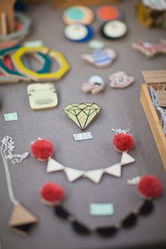 My stall at Renegade Craft Fair 2013 - photo by Live It. Love It. Make It. blog.