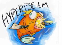HYPERBEAM Magikarp by ~Video320 on deviantART