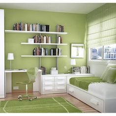#KBHome The fascinating nature green in study and bed room.