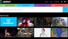 Te enseñamos cómo puedes publicar un GIF animado en Facebook utilizando Giphy, el buscador de gifs de la web.
