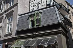 Central Hotel & Café in Copenhagen, Denmark | Smallest hotel in the world (Condé Nast Traveller)