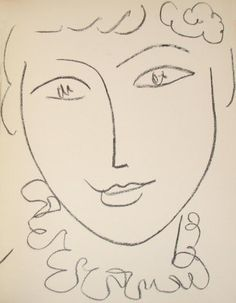 Find the latest shows, biography, and artworks for sale by Henri Matisse. Henri Matisse was a leading figure of Fauvism and, along with Pablo Picasso, one of… Henri Matisse, Matisse Kunst, Matisse Drawing, Matisse Paintings, Matisse Art, Art Fauvisme, Madame Pompadour, Simple Line Drawings, Marcel Duchamp