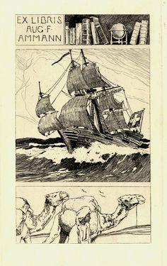 Ex libris - Aug. F. Ammann