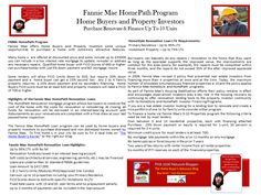 Rebuilding the Dream with Fannie Mae HomePath. https://plus.google.com/communities/100153141328621947565?hl=en