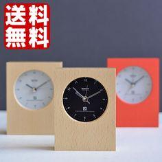 シンプルかつデザイン性を兼ねそろえたアラーム時計。置き時計 【送料無料】【Lemnos レムノス】mini ミニ LA04-10 T2-0205A アラームクロック アラーム アラーム時計 置時計 木製 目覚まし時計 時計 おしゃれ かわいい ナチュラル モダン 人気