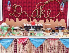 Lazo name for a cowboy/western/farm theme party