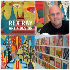 Rex Ray graphic artist - design style project