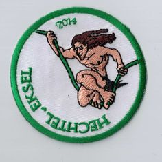 Oe-oe-oe! Is your camp theme 'Tarzan'? Every youth movement should have a patch like this as a camp memory. You can simply sew or iron it on your uniform. Upload your own design on ibadge.com!