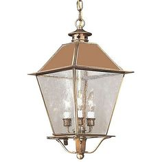 Montgomery Outdoor Pendant with Metal Top by Troy Lighting at Lumens.com