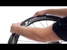 How to change and fix a flat bike tire - Trek Bicycle - YouTube