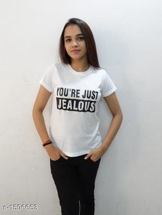 Tshirts Voguish Cotton T-Shirt Fabric: Cotton  Sleeves: Sleeves Are Included Size: S - 34 in M- 36 in L - 38 in XL - 40 in XXL - 42 in Length: Up To 26 in Type: Stitched Description: It Has 1 Piece Of Women's T- Shirt Work: Printed Country of Origin: India Sizes Available: XXS, XS, S, M, L, XL, XXL   Catalog Rating: ★3.9 (10539)  Catalog Name: Diva Voguish Cotton T-Shirts Vol 2 CatalogID_207447 C79-SC1021 Code: 591-1596653-783
