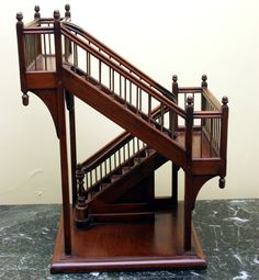 architectural staircase models | Architect's staircase model at 1stdibs