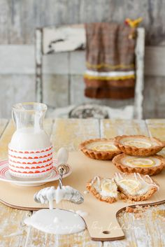 Lemony Quark Tarts by Laksmi W, via Flickr