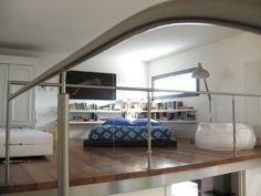 Come realizzare un soppalco in casa: bello queste esempio di camera letto nel  soppalco